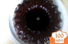Фото рецепта: «Торт Черный лес с шоколадным ганашем»