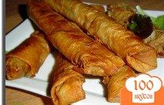 Фото рецепта: «Горячая закуска из лаваша»