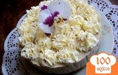 Фото рецепта: «Торт « Кофе со сливками»»