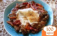 Фото рецепта: «Лагман с мясным соусом»