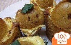 Фото рецепта: «Закусочные пенечки с грибами»
