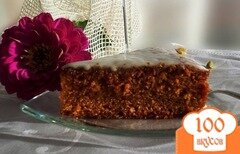 Фото рецепта: «Пряный медовый пирог»
