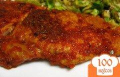 Фото рецепта: «Жареные свиные отбивные с чили»