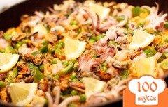 Фото рецепта: «Паэлья с морепродуктами»