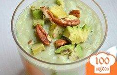Фото рецепта: «Суп охлажденный с авокадо»