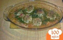 Фото рецепта: «Мясные шарики с начинкой»