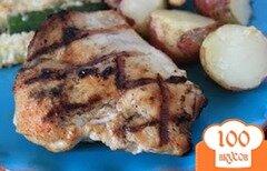 Фото рецепта: «Курица в пиве на гриле»