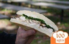 Фото рецепта: «Начинка для сэндвича с сыром и артишоками»