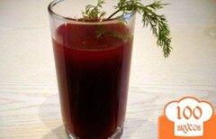 Фото рецепта: «Свекольный напиток, очищающий организм»