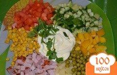 Фото рецепта: «Салат каламбур»