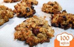 Фото рецепта: «Овсяное печенье с бананами»
