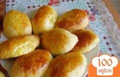 Фото рецепта: «Пирожки с вишней и абрикосами.»