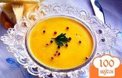Фото рецепта: «Печеночное суфле с топленым маслом»