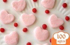 Фото рецепта: «Мятные сердечки»