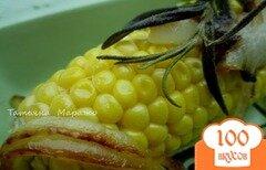 Фото рецепта: «Запеченая кукуруза с розмарином»