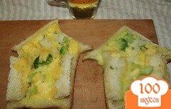Фото рецепта: «Домики из омлета для ваших любимых»