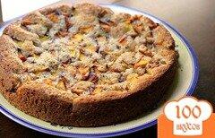 Фото рецепта: «Пирог из персиков»