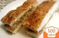 Фото рецепта: «Пирог с капустой и оливками»