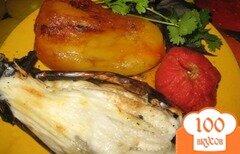 Фото рецепта: «Овощи на мангале»
