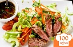 Фото рецепта: «Тайский салат с говядиной»