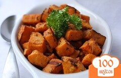 Фото рецепта: «Запеченный сладкий картофель»