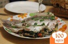 Фото рецепта: «Фаршированные карасики»