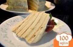 "Фото рецепта: «Торт "" Почти Наполеон"" на сковороде»"