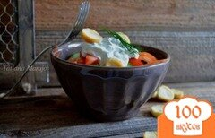 """Фото рецепта: «Овощной салат """"Свежесть""""»"""