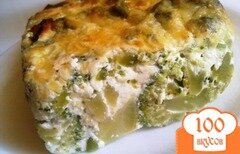 Фото рецепта: «Омлет из брокколи»
