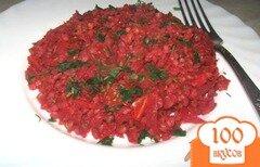 "Фото рецепта: «Гречневая каша с овощами ""Красная горка""»"