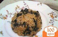 Фото рецепта: «Спанакоризо»
