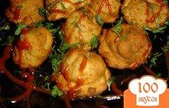 Фото рецепта: «Пельмени с капустой и грибами»