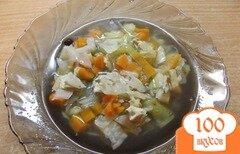 Фото рецепта: «Суп на бульоне из корня сельдерея»