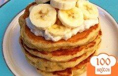 Фото рецепта: «Банановые блинчики»