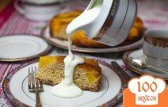 Фото рецепта: «Пирог с манго»