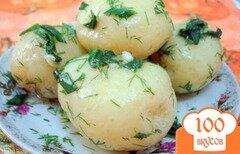 Фото рецепта: «Молодой картофель (три способа подачи)»