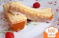 Фото рецепта: «Пирог с лимонной глазурью»