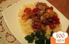 Фото рецепта: «Кус-кус с курицей и овощами»