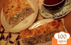 Фото рецепта: «Блинный пирог с мясом»