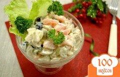 Фото рецепта: «Салат с отварной птицей»