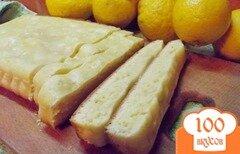Фото рецепта: «Лимонный пирог к чаю»