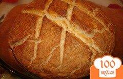 Фото рецепта: «Хлеб для лентяйки в кастрюле (Содовый хлеб)»