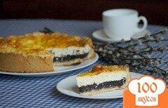 Фото рецепта: «Пирог с творогом и маком»