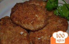Фото рецепта: «Котлеты из колбасы»
