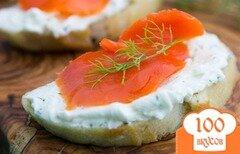 Фото рецепта: «Бутерброды с красной рыбой»