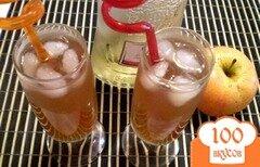 Фото рецепта: «Коктейль из вермута и яблочного сока»