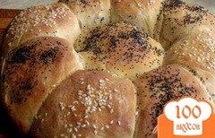 """Фото рецепта: «Хлеб """"Ромашка""""»"""