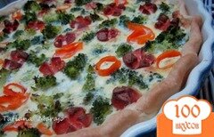 Фото рецепта: «Открытый пирог»