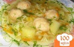 Фото рецепта: «Суп с сырными шариками»