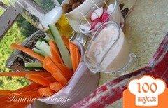 Фото рецепта: «Быстрый соус к овощной закусочке..»